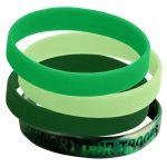 silicone-bracelet green