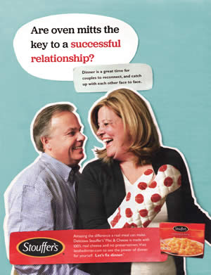 Stouffers ad