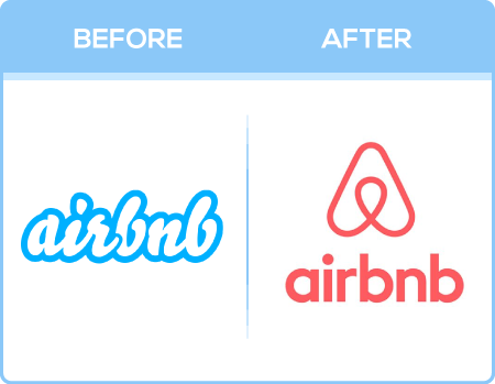 Airbnb Logo Change