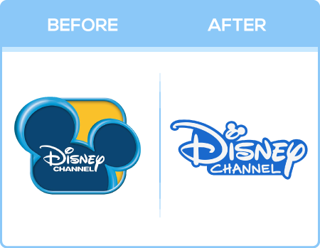 Disney Channel Logo Change