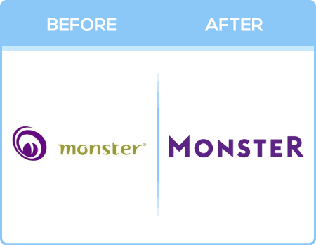Monster Logo Change