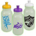 Glow In The Dark Sports Bottles