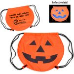 PartyTime Pumpkin Drawstring Bag