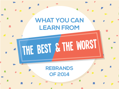 Best and Worst Rebrands of 2014