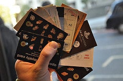 Coffee Rewards Cards