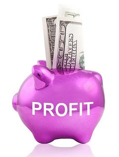 Resized Profit Piggy Bank