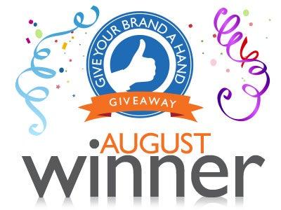 Give-Brand-Hand-Winner-August
