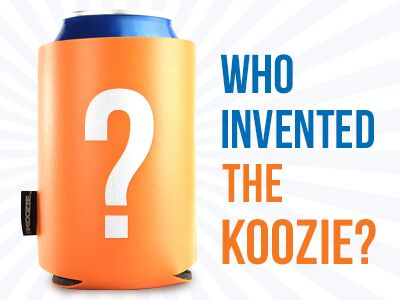 who invented the koozie header
