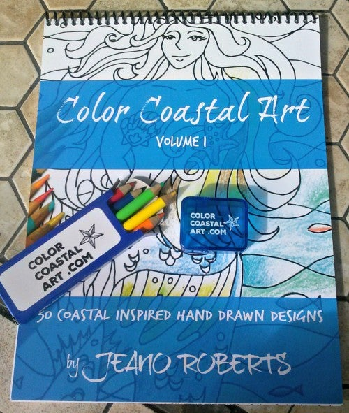 color coastal art package pic