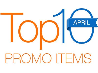 Top 10 Promotional Products of April 2016 - QLP