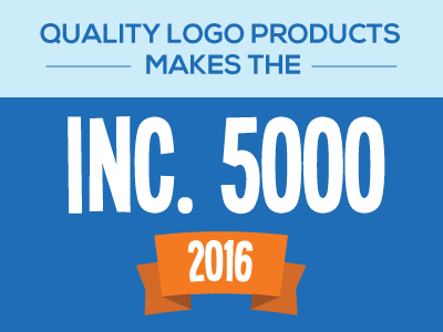 Quality Logo Products Makes 2016 Inc. 5000 List