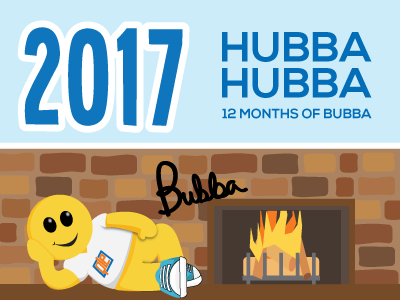 Hubba Hubba-- Enter to Win an Exclusive Bubba Calendar
