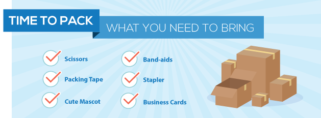 Tradeshow Packing List
