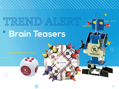 Trend Alert: Brain Teaser Promotional Products