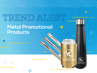Trend Alert: Metallic Promotional Products