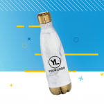 Quality Logo Products Marble Water Bottle