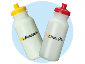 Hardees Water Bottles