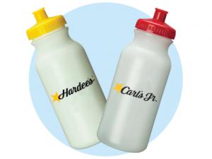 Hardees Water Bottles
