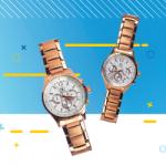 Custom Rose Gold Watch