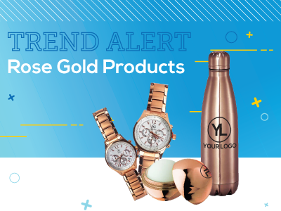 Rose Gold Promotional Products