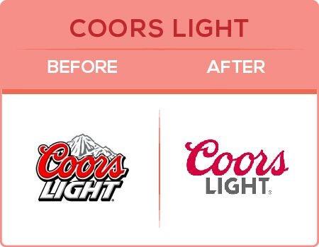 Coors Logo Change