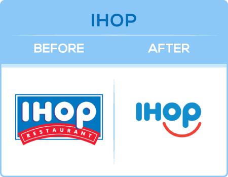 IHOP Logo Change