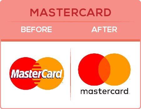 MasterCard Logo Change