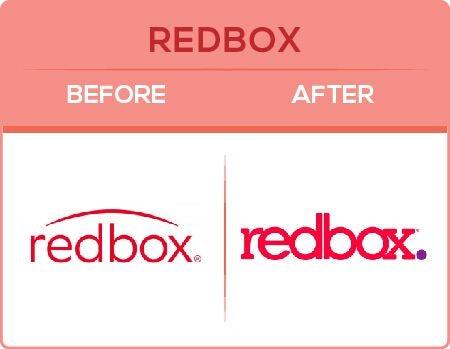 Redbox Logo Change