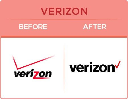 Verizon Logo Change
