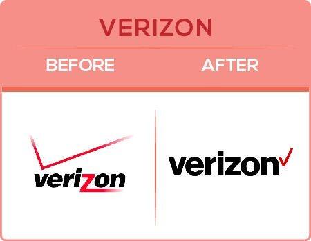 Verizon Logo Change