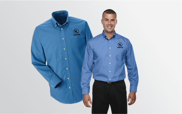 UltraClub Cool and Dry Heathered Performance Quarter-Zip Shirt