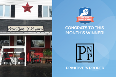 Give Your Brand a Hand: Primitive 'n Proper