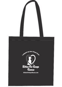 Kitties for Keeps Tote Bag
