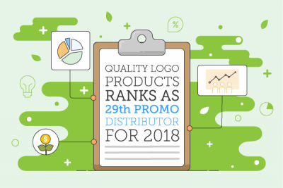 Quality Logo Products Ranks 29th Distributor