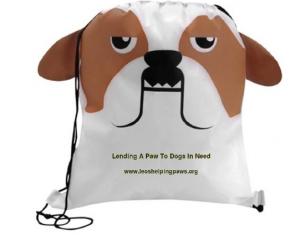 Bulldog Drawstring Bag