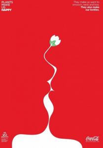 Coca-Cola Illusion Ad