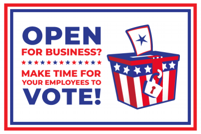Make Time for Employees to Vote