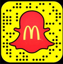 McDonald's Snapchat