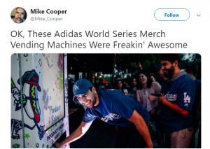Adidas Vending Machine Twitter