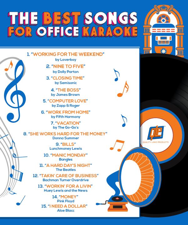 Best Songs for Office Karaoke