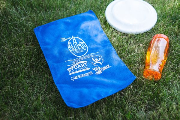 Rally towels donated to the U.S. Olympic Committee for the Ultimate Frisbee Championship