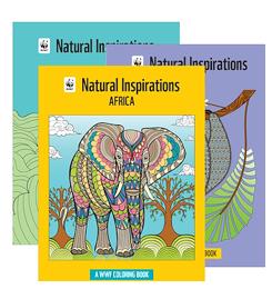 world wildlife fund coloring books