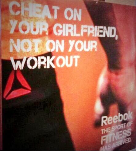 Reebok – Cheat on Your Girlfriend