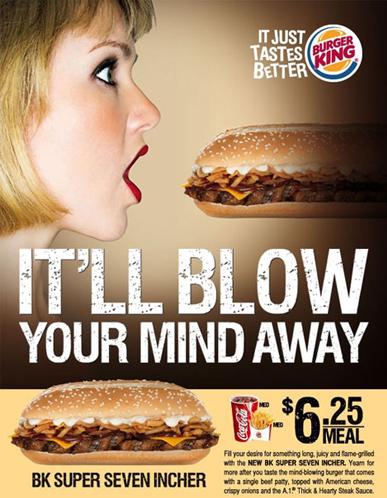 Burger King – Super Seven Incher