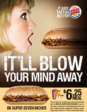 Burger King – Super Seven Incher