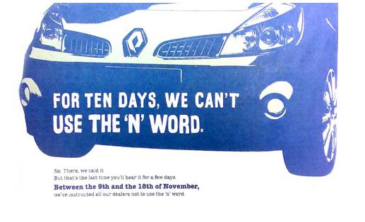 Renault – The 'N' Word