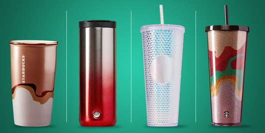 Stylish Starbucks tumblers