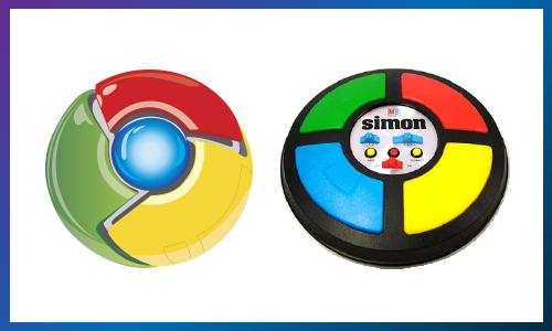 Google Chrome Simon Says
