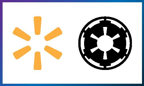 Walmart Galactic Empire logo