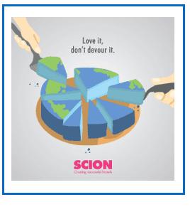 Scion pie graphic
